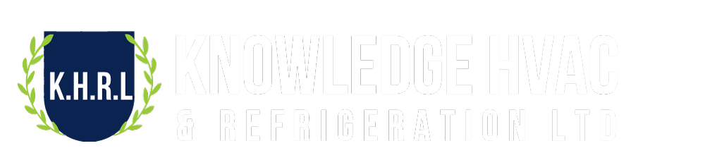 Knowledge HVAC & Refrigeration logo White