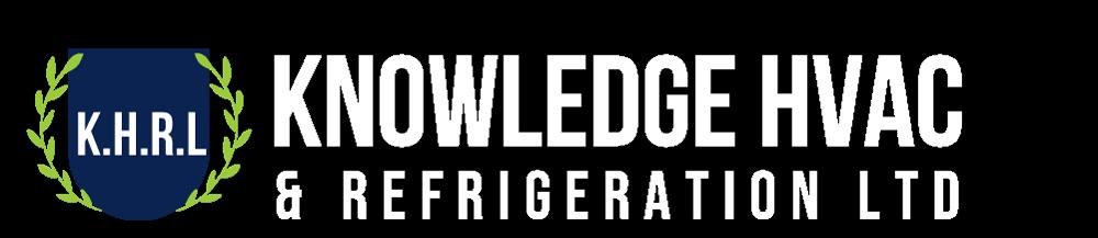Knowledge HVAC & Refrigeration logo White