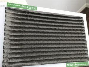 Furnace Filter installation